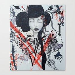TP Geisha  Canvas Print