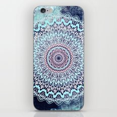 BLUE AUTUMN BOHO MANDALA iPhone & iPod Skin