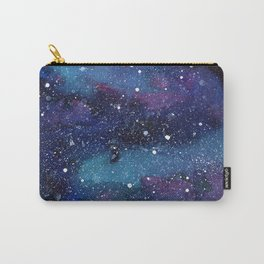 Galaxy Space Painting Stars Cosmic Universe Nebula Art Carry-All Pouch