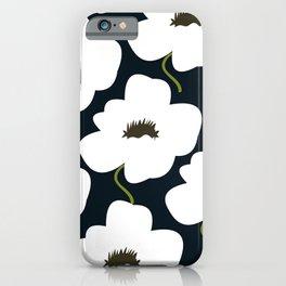W&B Flower iPhone Case