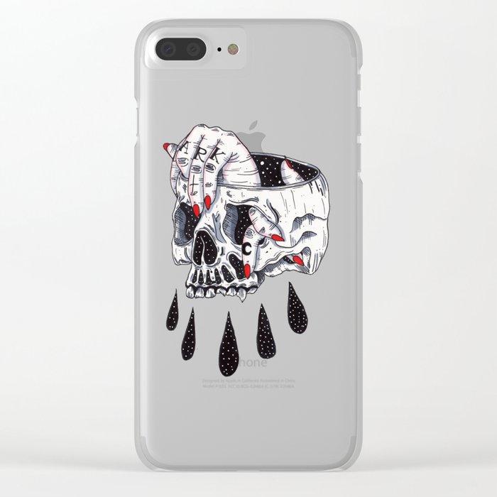Dark Clear iPhone Case