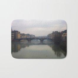 Bridge Gap Over Arno Bath Mat
