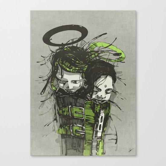 Big Sleep II. Canvas Print
