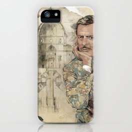 Marcello and Sophia iPhone Case