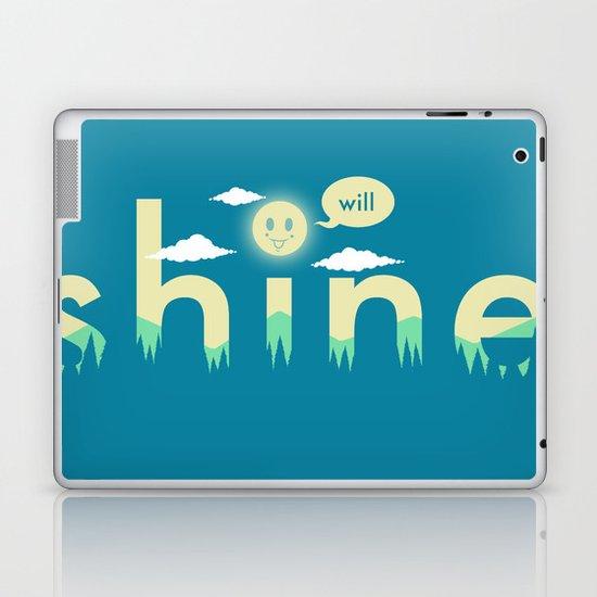 i will shine Laptop & iPad Skin