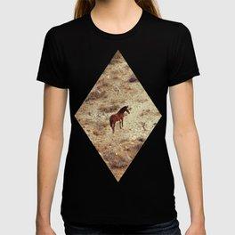 Horse in Santorini T-shirt