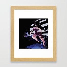 Femme Fatale Framed Art Print