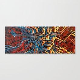 Assembling Canvas Print