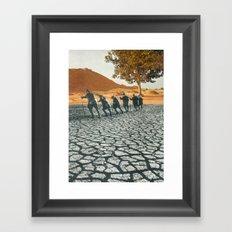 Desiccation  Framed Art Print