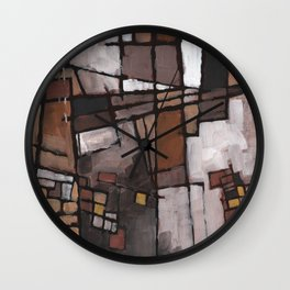 Lapse of Judgment Wall Clock