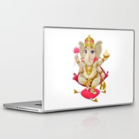 ganesh Laptop & iPad Skins featuring Ganesh by Danilo Sanino