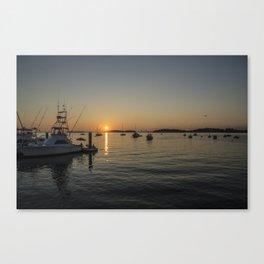 Sunset at Hull Massachusetts 2 Canvas Print