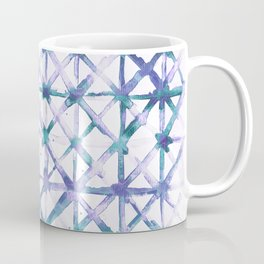 Paris - Green and Blue Coffee Mug