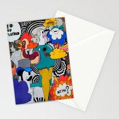 1 Araignée Au Plafond Stationery Cards