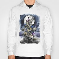 nightmare before christmas Hoodies featuring The nightmare before christmas by Sandra Ink