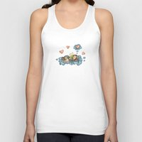 angel Tank Tops featuring Angel by Catru