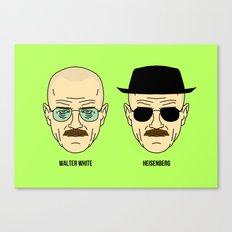Walter White or Heisenberg? Canvas Print