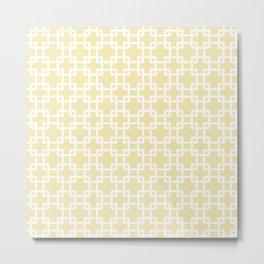 Plummer baby yellow Metal Print