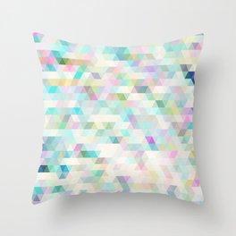 ambiguous geometry Throw Pillow