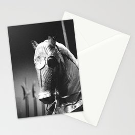 Armored Horse Stationery Cards