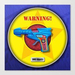 SPACE GUN! Canvas Print
