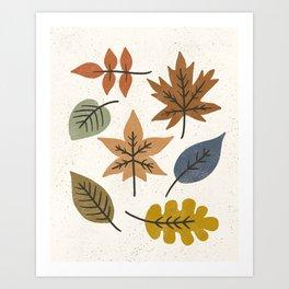 Autumn Leaves #1 Art Print