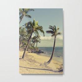 Maui Lu Beach Kihei Maui Hawaii Metal Print