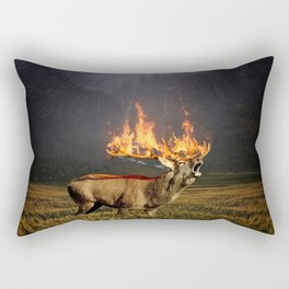 Natures Agony Rectangular Pillow