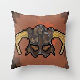 Skyrim Dragonborn Throw Pillow