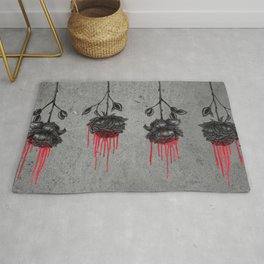 Dripping Roses Rug