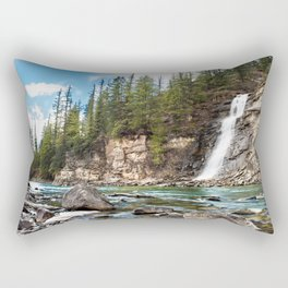 Bear Creek Falls Rectangular Pillow