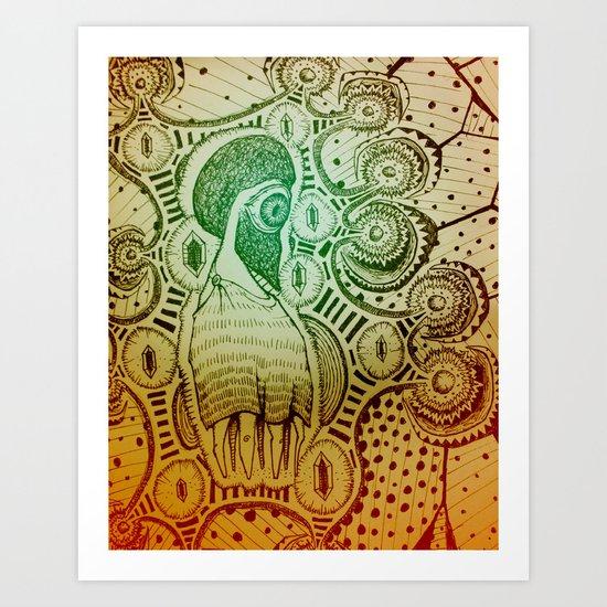 Gilded Dream Art Print