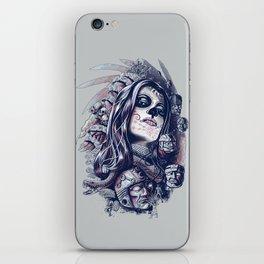 Coyolxauhqui iPhone Skin