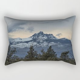 Good Night Mountain Rectangular Pillow