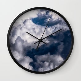Floating Above Wall Clock