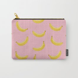 Banana in pink Carry-All Pouch
