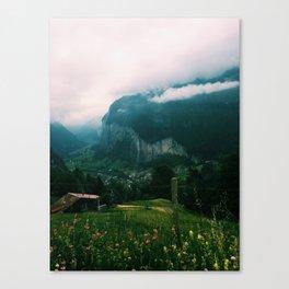 Jungfrau, Switzerland Canvas Print