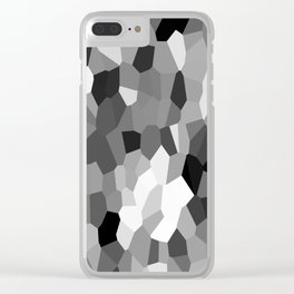 Black-and-white Clear iPhone Case