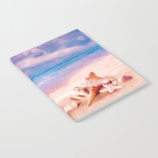 On the beach Notebook