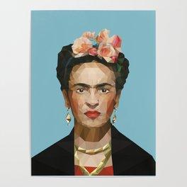 POLY Frida Poster