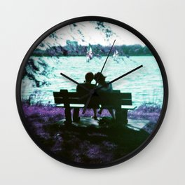 Love is here Wall Clock