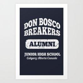 Don Bosco School Alumni Art Print