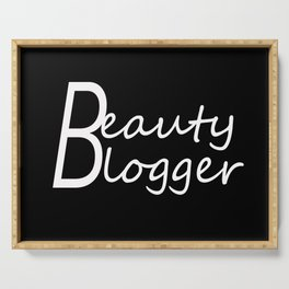 Fashion City: Beauty Blogger Serving Tray