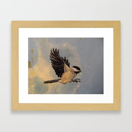 Chickadee Framed Art Print