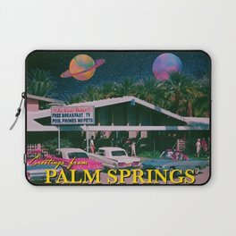 greetings from palm springs Laptop Sleeve