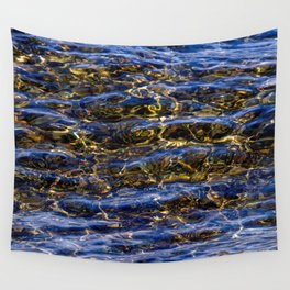 Subtle Swimmer Wall Tapestry