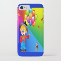 clown iPhone & iPod Cases featuring Clown by Art-Motiva