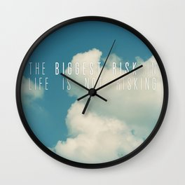 Risk Wall Clock
