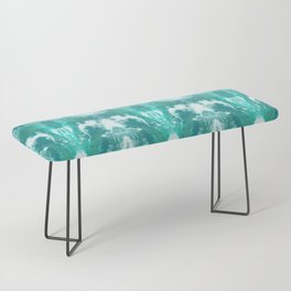 Aqua Blue Lagoon Bench