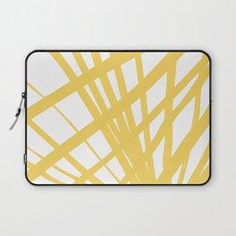 Dandelion in Yellow by Friztin Laptop Sleeve